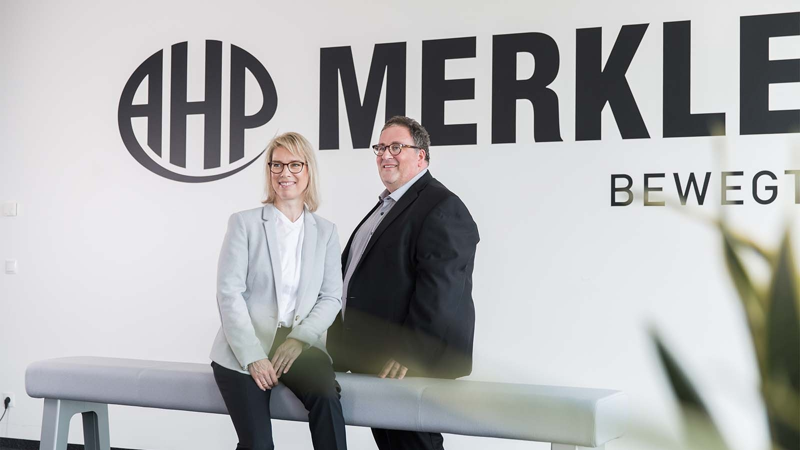 The two managing directors of the company, Katrin Merkle and Christen Merkle